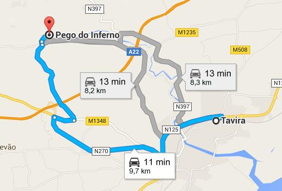 pego do inferno mapa Día 3 pego do inferno mapa
